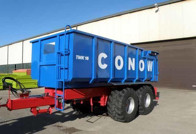 yeni CONOW Tandem-Dreiseitenkipper (TMK 16) römork tohum taşımak için