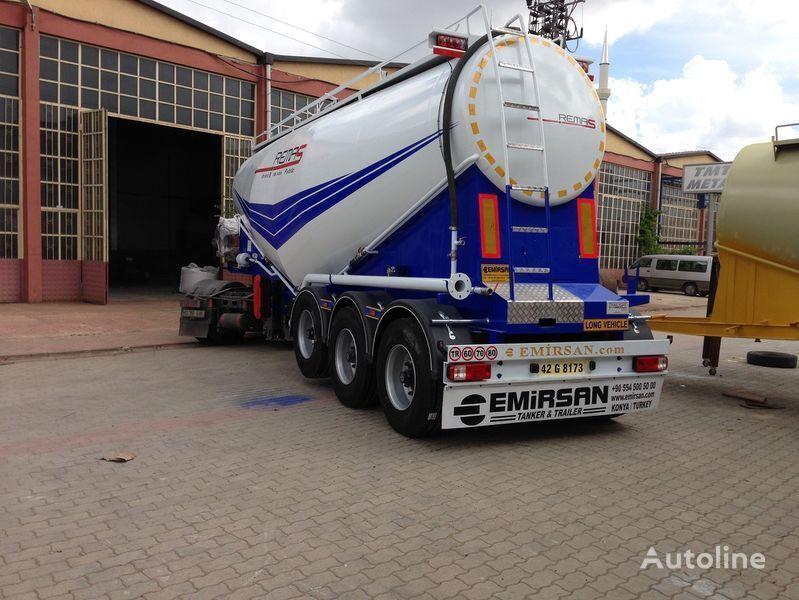 EMIRSAN Manufacturer of all kinds of cement tanker at requested specs  tanker çimento kamyonu
