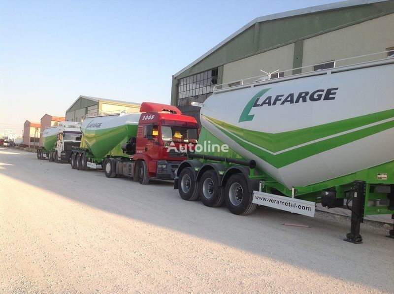 yeni LIDER NEW 2017 YEAR LIDER TRAILER tanker çimento kamyonu