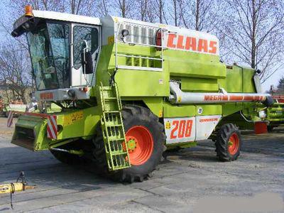 CLAAS MEGA 208 biçerdöver