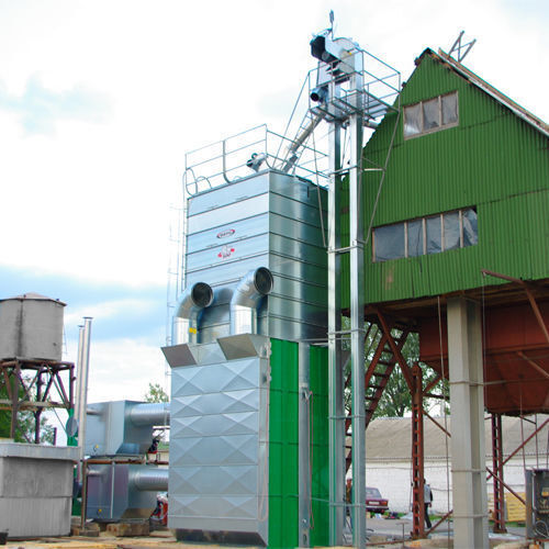 Stacionarnye zernosushilki MEPU serii RCW kurutma sistemi