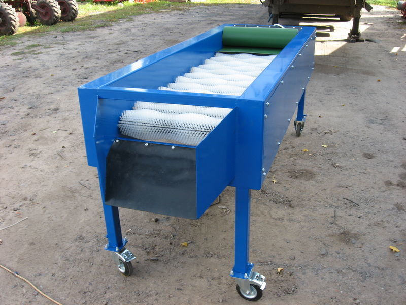 yeni GRIMME Suhaya chistka 14 shchetok sebze yıkama makinası