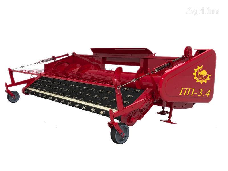 yeni ROSTSELMASH Podborshchik valkov (pidbirach valkiv)PP-3,4 silindirik balya makinesi
