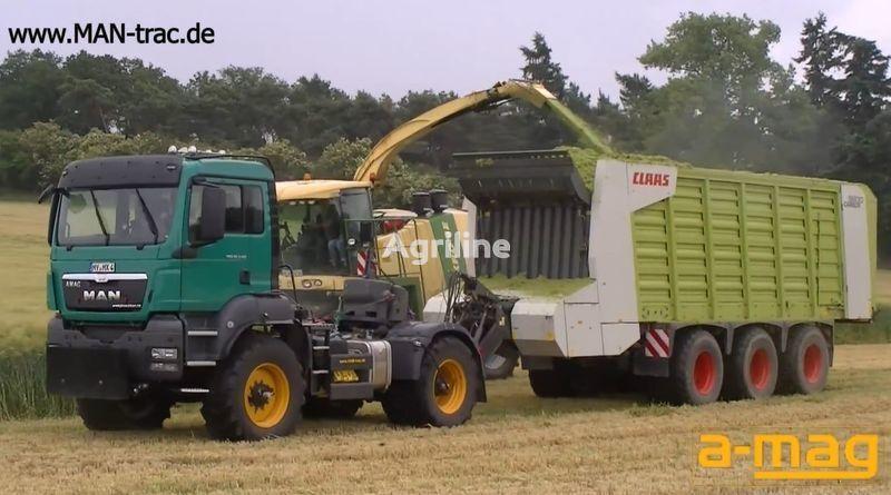 yeni FENDT MAN Multifunctionstrac tekerlekli traktör