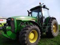 JOHN DEERE 8410 tekerlekli traktör