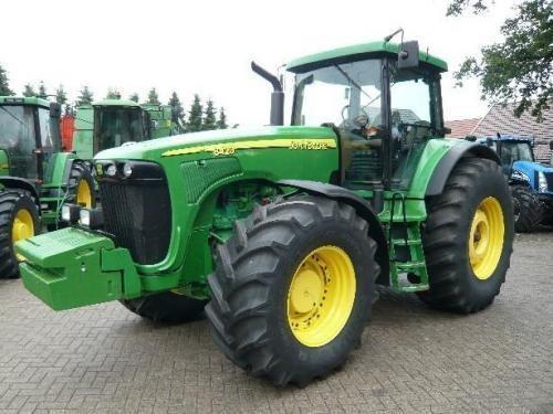 JOHN DEERE 8420 Gusinichnyy tekerlekli traktör