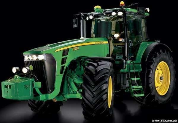 JOHN DEERE 8430 tekerlekli traktör