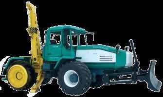 SMR-3 Specializirovannaya mashina dlya remontno-stroitelnyh rabot  tekerlekli traktör