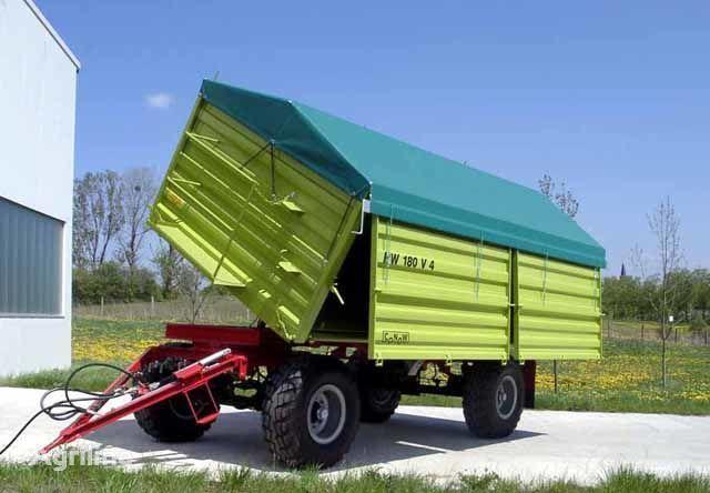 yeni CONOW HW 180 Zweiseiten-Kipper V 4 traktör römork