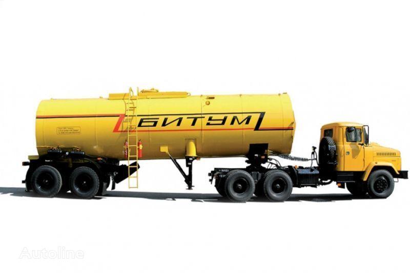 KRAZ Avtobitumovozy 63431 AB-22 i 6443 AB-30,5  tır + tanker