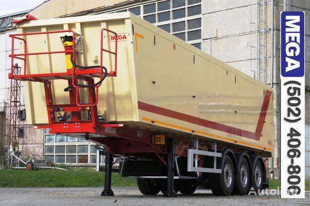 KARGOMIL 45 m³ CAMOCVAL Alyuminievyy kuzov dver ! -gotov- ! yarı römork damperli kamyon