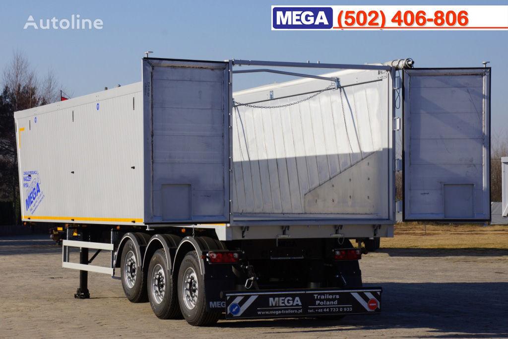 yeni MEGA 10,4 m / 55 M³ ALUM TIPPER SUPER LIGHT 6,2 T ! BRAND NEW ! yarı römork damperli kamyon