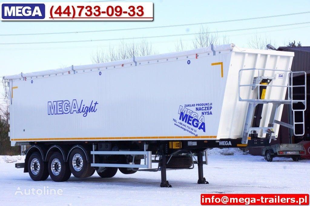 yeni MEGA 10,4 m / 60 M³ ALUM TIPPER SUPER LIGHT 6,2 T ! READY & NEW ! yarı römork damperli kamyon