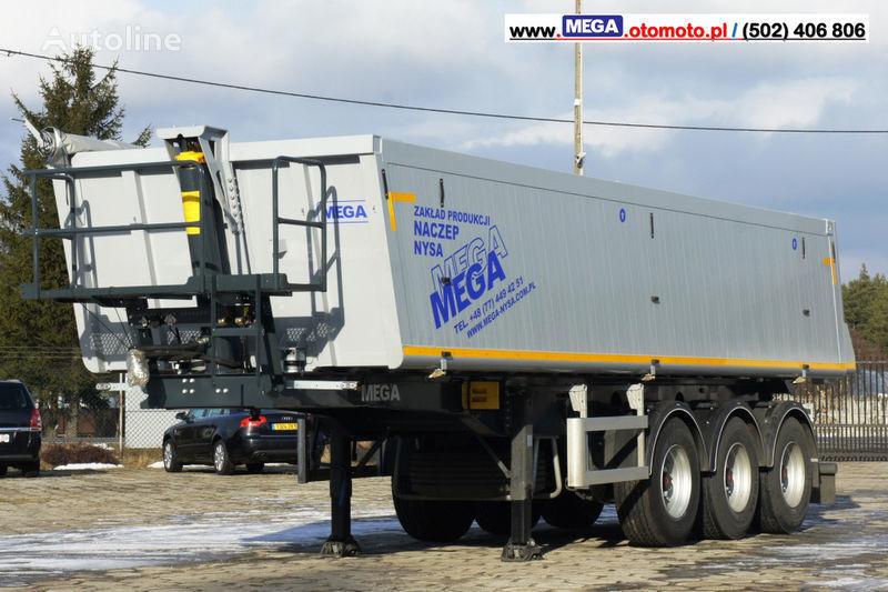 yeni MEGA 30 m³ - SUPER LIGHT - 5,300 KG - SUPER PRICE !!! READY !!! yarı römork damperli kamyon