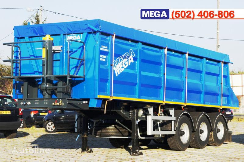 yeni MEGA 35/9200 kcc - camosval 35 kub.m., pama k tyagachu 6x4, klapan! yarı römork damperli kamyon