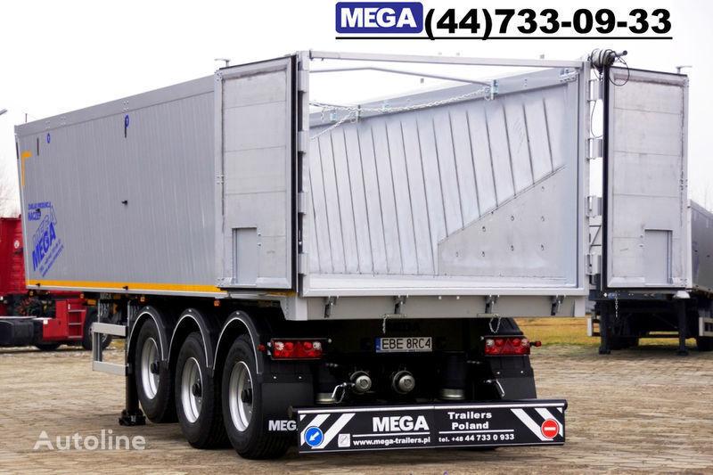 yeni MEGA 39/8360KD- camosval 39 kbm, alyuminievyy, klapan-dverey GOTOV! yarı römork damperli kamyon