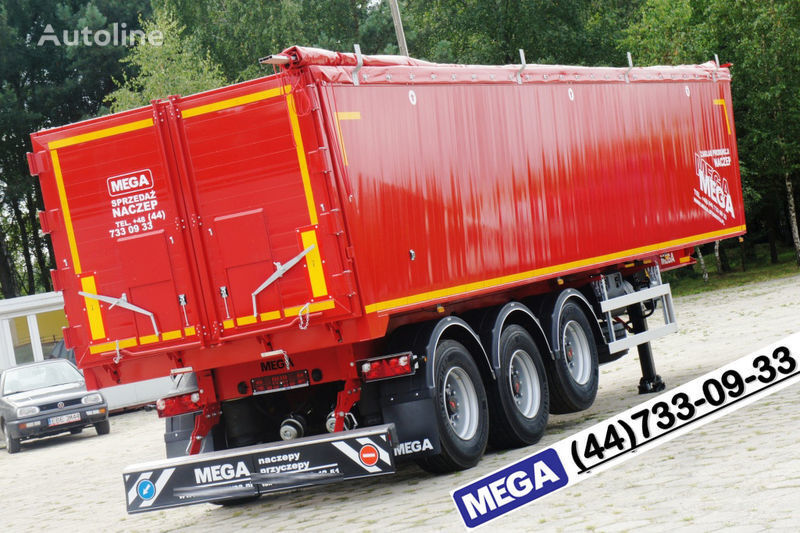 yeni MEGA 42 kbm, camosval alyum./ Legkiy Ves ot 5,8 t ! GOTOV ! yarı römork damperli kamyon