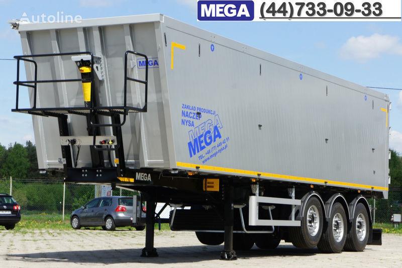 yeni MEGA 50 M³ KIPPER AUS ALUMINIUM ! SUPER LEICHT 5.900 KG !  = BEREIT ! yarı römork damperli kamyon