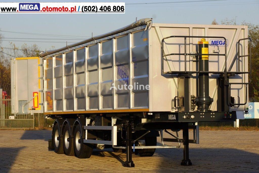 yeni MEGA 50 M³ TIPPER FOR SCRAP & IRON DOMEX 650 !READY ! yarı römork damperli kamyon