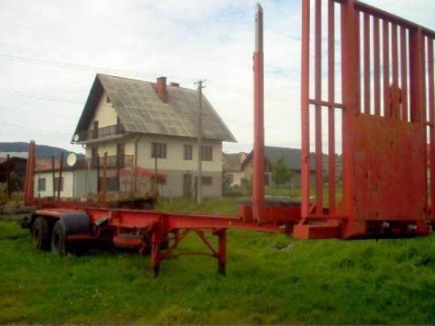 IWTHL SCHLUTUP FS 4020 yarı römork kereste kamyonu