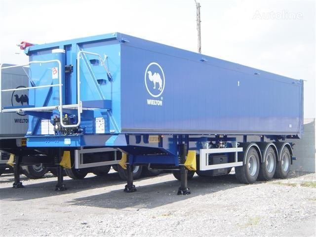 yeni WIELTON NW - 3 (50m3) yarı römork tohum taşımak için