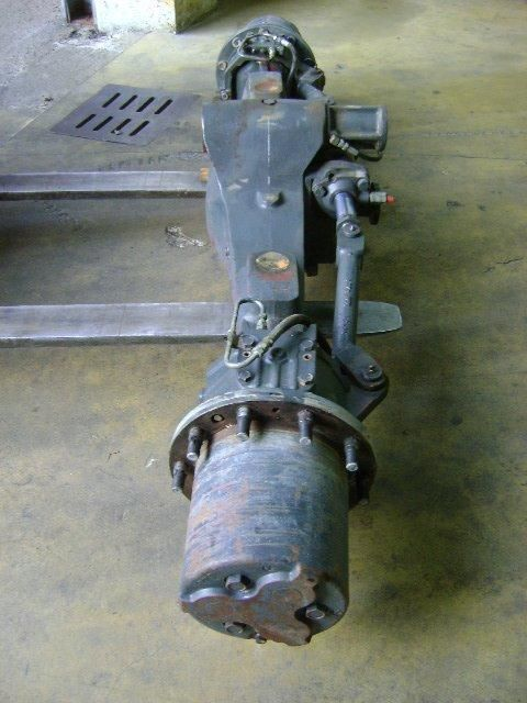 KOMATSU Pw 130 ekskavatör için aks