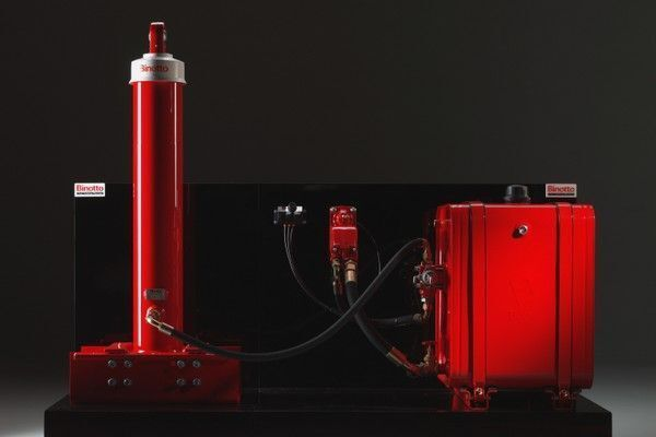 Binotto için Binotto damper sistemi