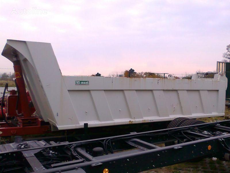 VS MONT Kippaufbau için damper sistemi