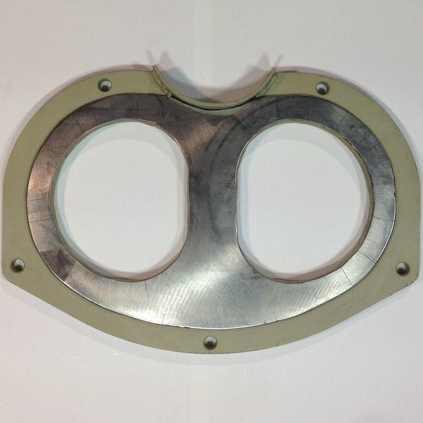 yeni PUTZMEISTER BSA1005 sabit beton pompası için Germaniya Putzmeister gözlük plaka