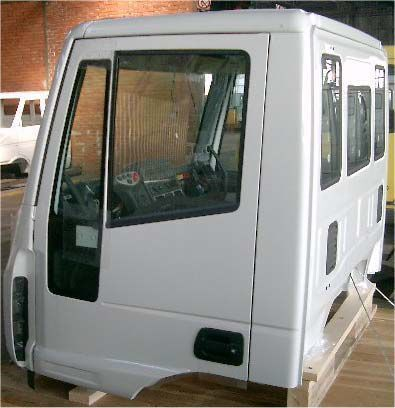 yeni IVECO ML CORTA TECHO BAJO kamyon için IVECO CABINA TECTOR MLREVESTIDA kabin