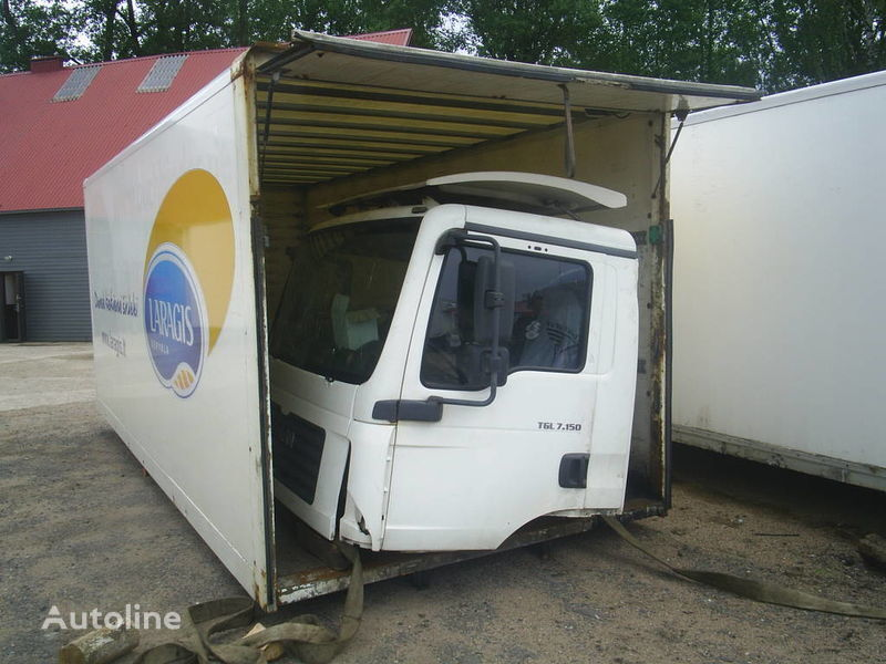 MAN TGL 7.150 kamyon için kabin