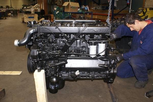 MAN D0826 LF 03 buldozer için motor