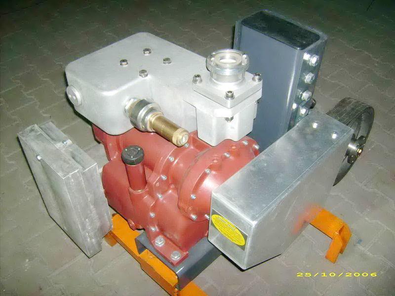 CG80 GHH RAND Light tanker yarı römork için pinömatik kompresör