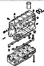 yeni IVECO 35S15 minibüs için IVECO BLOQUE DAILY 8140,43 N silindir bloğu