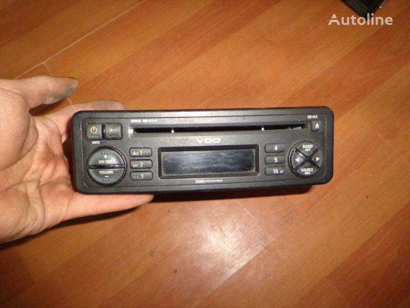 kamyon için VDO CD413. 12V. CD. teyp