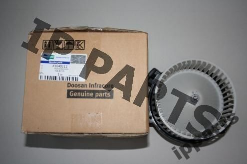 DOOSAN wentylator 2538-6015 K1040112 nawiew ekskavatör için ventilatör
