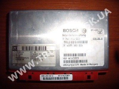 MAN kamyon için Bosch yönetim bloğu