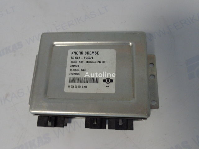MAN tır için KNORR BREMSE 4S/3M ABS-Elektronik yönetim bloğu