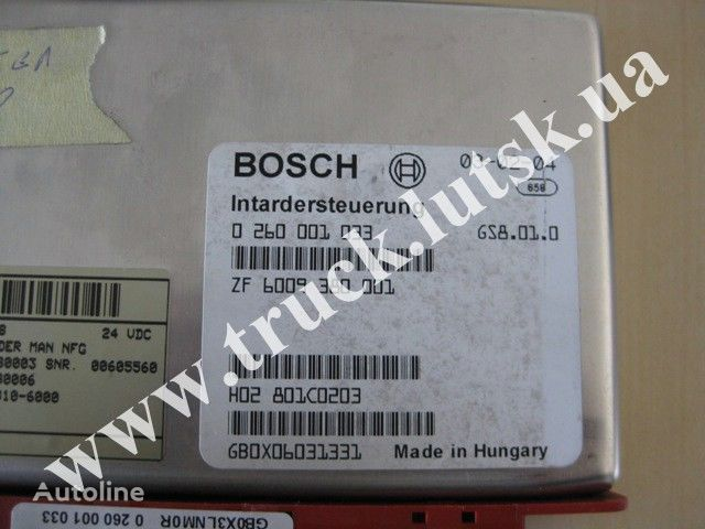 MAN TGA kamyon için MAN Bosch yönetim bloğu