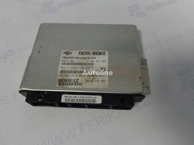 RENAULT tır için KNORR-BREMSE ABS ASR Steuergerat 0486104049,5010493009,BOCH MF1D25030067 yönetim bloğu
