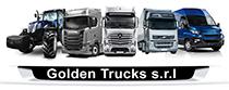 Golden trucks trailer