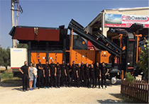 Stok sahası FABO Stone Crusher Machines & Concrete Batching Plants Manufacturing Company