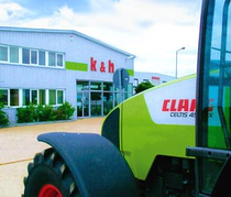 Ticaret alanı k&h Landmaschinenhandel