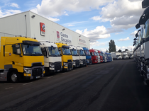 Ticaret alanı Renault Trucks France by Volvo group Lyon