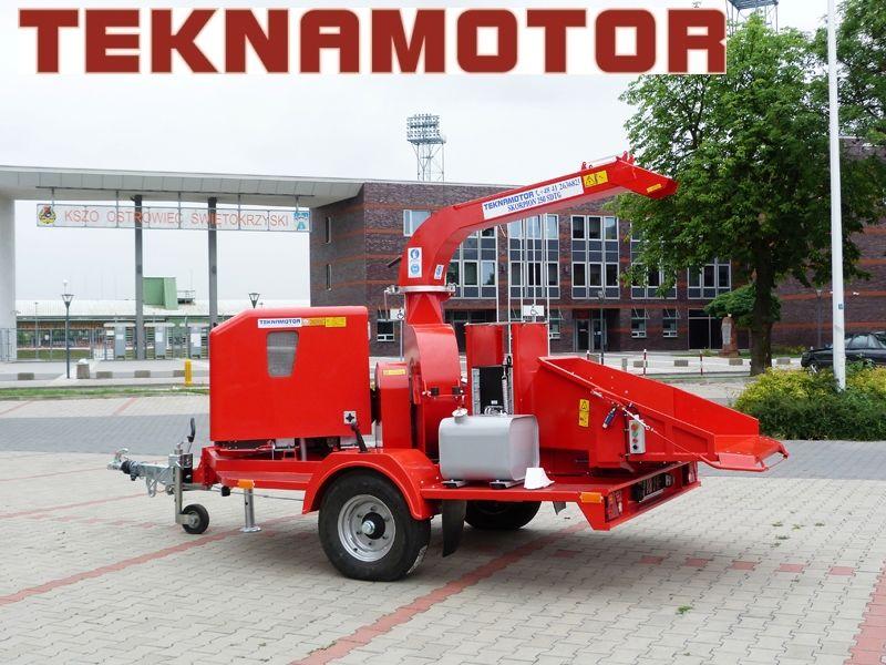 yeni TEKNAMOTOR Skorpion 250 SDT/G Dal Öğütme