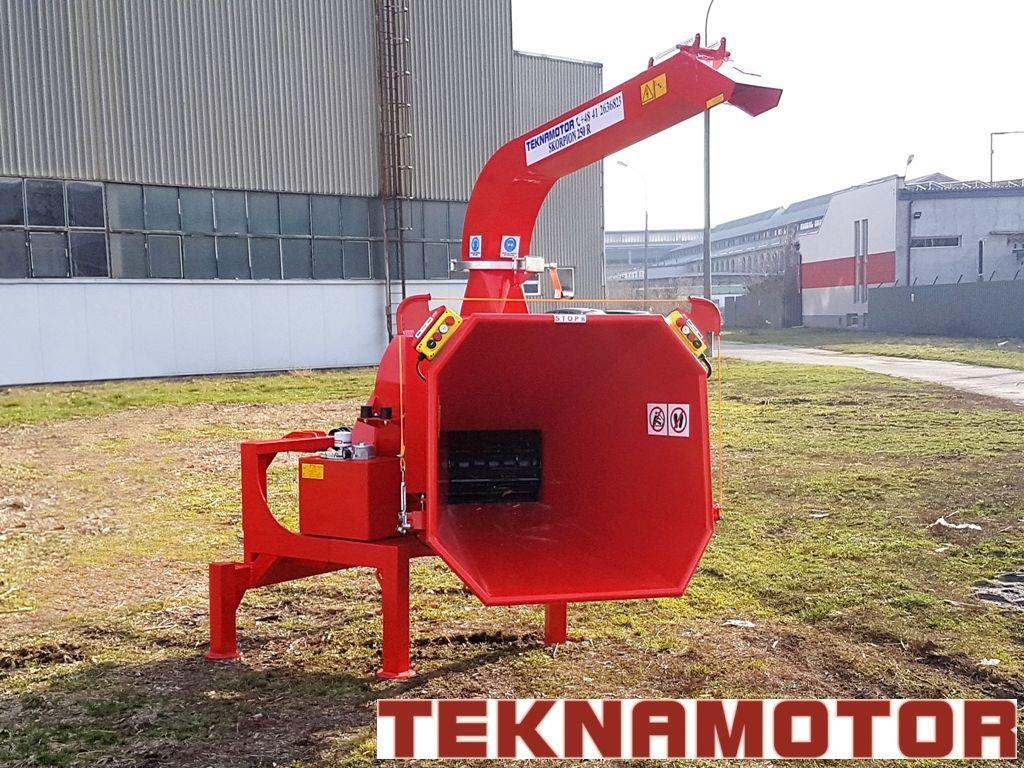 yeni TEKNAMOTOR Skorpion 250R Dal Öğütme