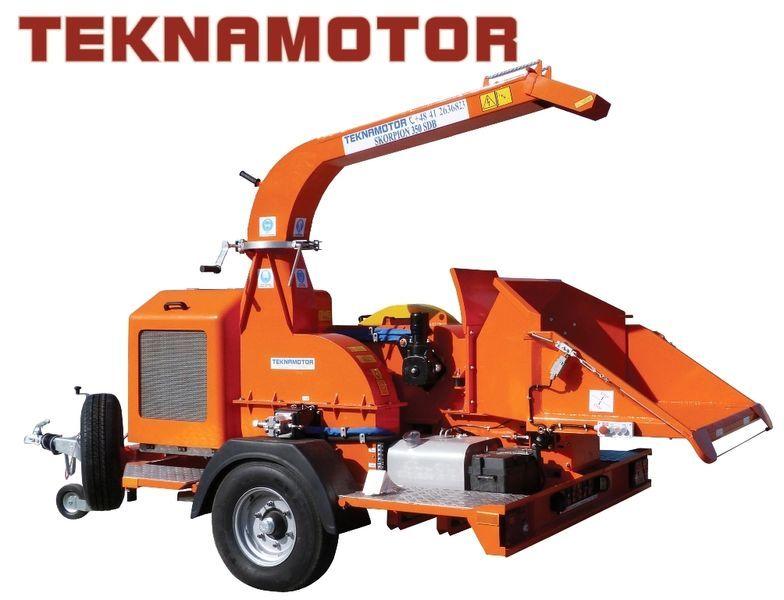 yeni TEKNAMOTOR Skorpion 350 SDB Dal Öğütme