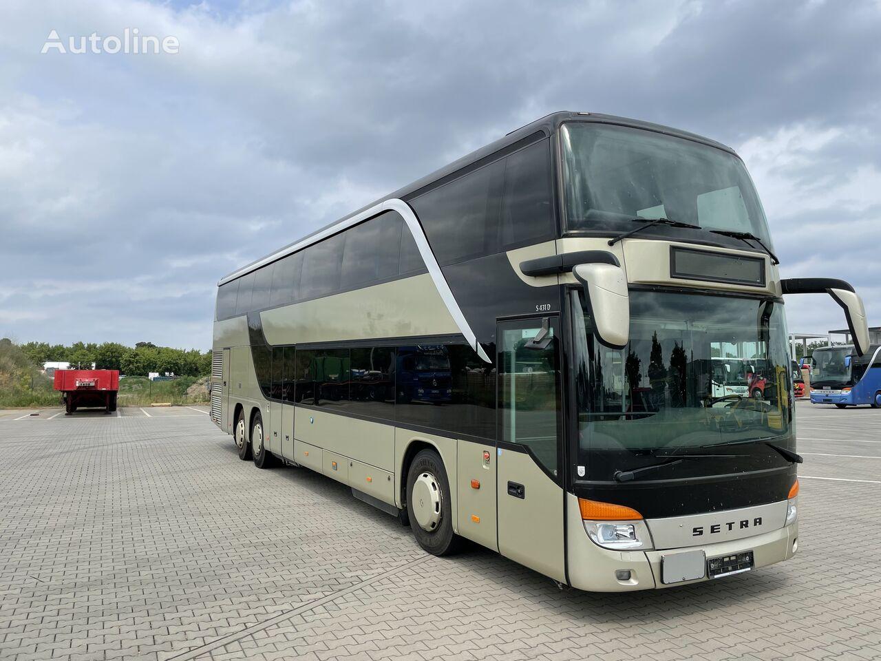 SETRA S 431 DT -EURO-5-Km.orig.651119 !!! çift katlı otobüs