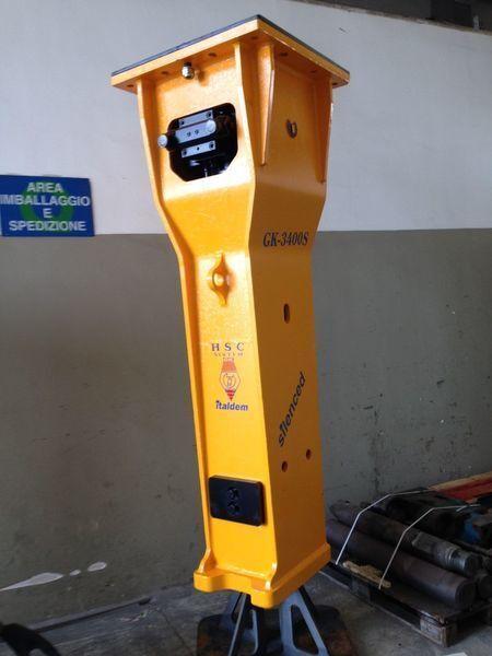 yeni ITALDEM GK 3400S hidrolik kırıcı