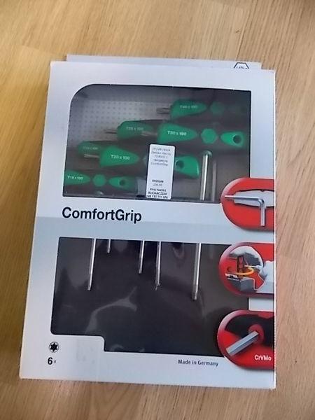 Zestaw kluczy TORX z rękojeścią ComfortGrip. oto tamir aletleri